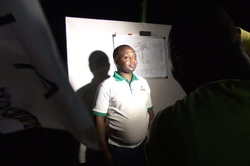 René Ngongo posing with CATPC Logo
